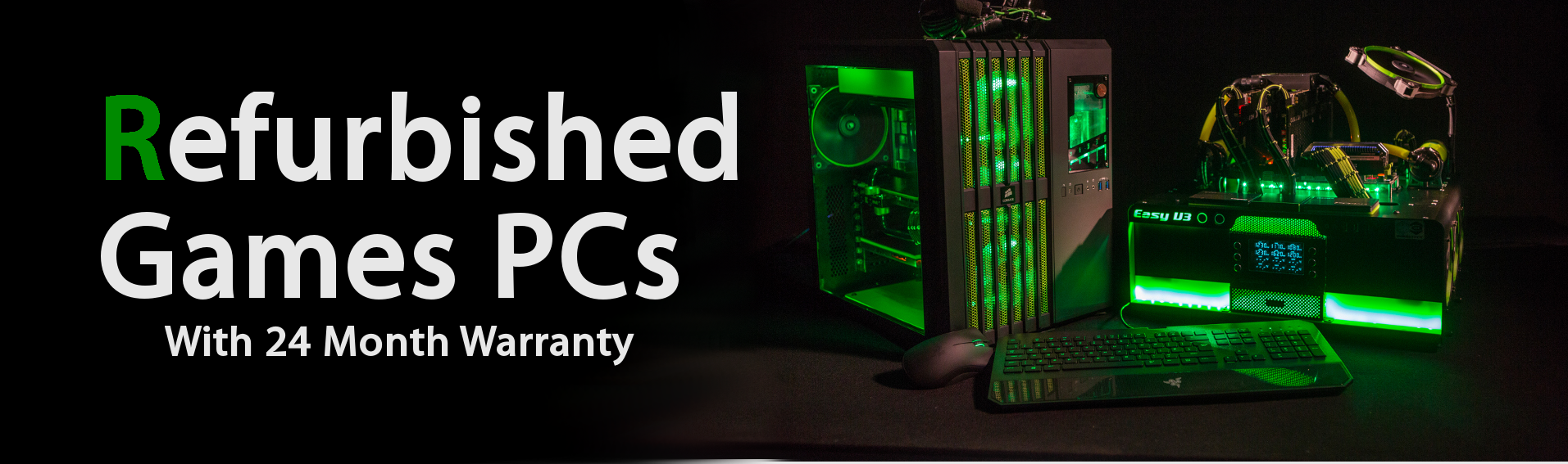 Refurbished games PCs