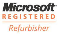 microsoft registered refurbished computers