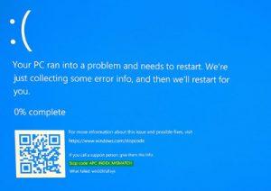 Stop Error repairs