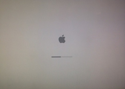 MacBook stuck loading