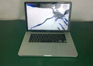 MacBook Smashed Screen Repairs